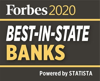 Forbes Best In State Banks 2020 Logo