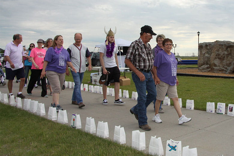 Bell employees at the West Fargo Relay for Life fundraiser