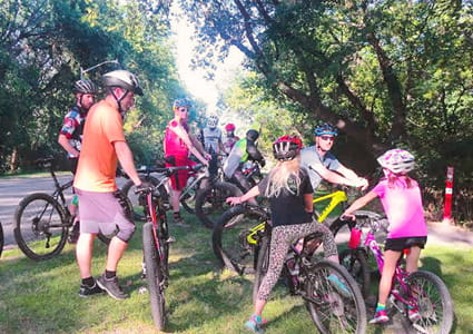 Bikers gather for group ride through Great Rides