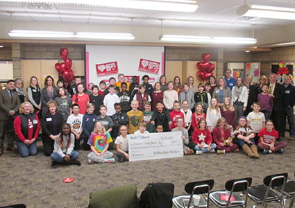 Pay It Forward Donation Brings Life Values to the Classroom